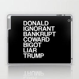 Trump List Laptop & iPad Skin