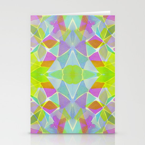 Chroma Lime Stationery Cards