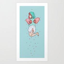 * Oyasumi * Art Print