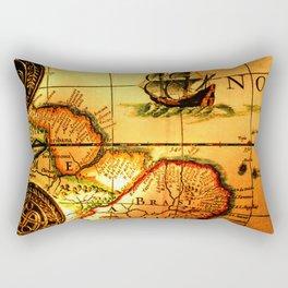 map sea Rectangular Pillow