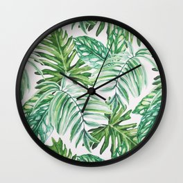 Wild Paradise Wall Clock