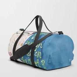 Ruth Bader Ginsberg Duffle Bag