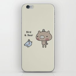 Bird & Bear iPhone Skin