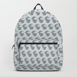 Always On My Mind - Origami Grey Rabbit Backpack