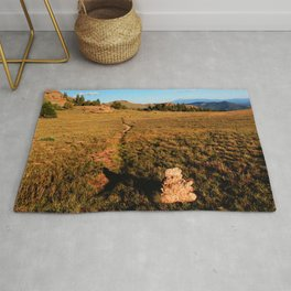 Watercolor Landscape, Lost Creek Wilderness 22, Colorado Rug