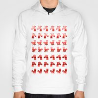 unicorns Hoodies featuring Peppermint Unicorns by That's So Unicorny
