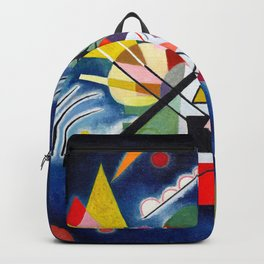 Wassily Kandinsky - Blue Painting - Abstract Art Backpack