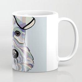 Wire Hair Terrier Denim Colors Coffee Mug
