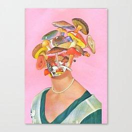 Mushroom Head Canvas Print