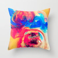 Whirl Throw Pillow