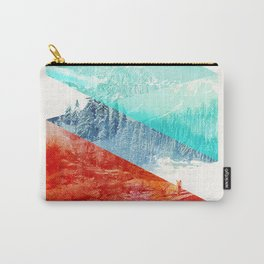 Mountain Stripes Carry-All Pouch