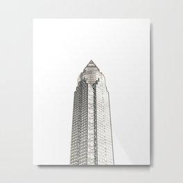 Architecture: Frankfurt Metal Print