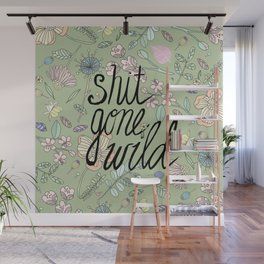 Shit Gone Wild Wall Mural