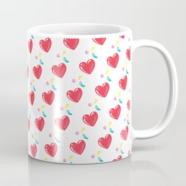 heart hearts Coffee Mug