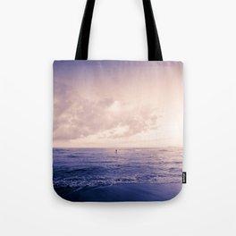 calm day ver.violet Tote Bag