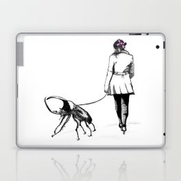 Pets ( and girl and her Beetle ) Laptop & iPad Skin