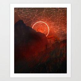 2077 landscape II Art Print