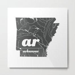Arkansas Metal Print