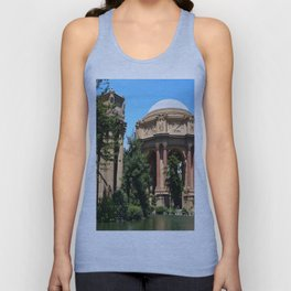 View Over The Lagoone To The Palace Of Fine Arts - San Francisco Unisex Tank Top