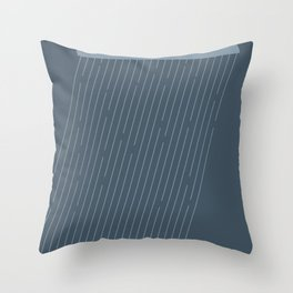Rainy Throw Pillow