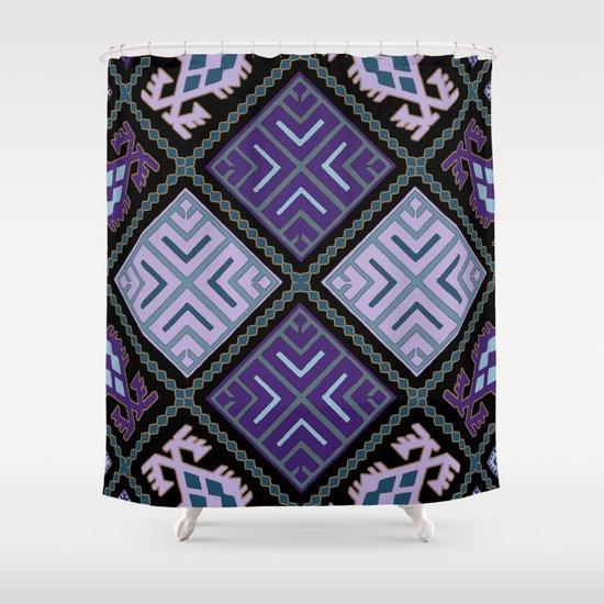 Pattern 025 Shower Curtain