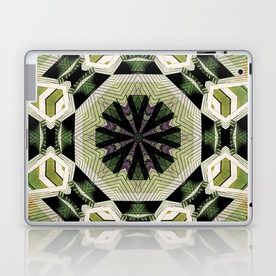 Two In One. Laptop & iPad Skin