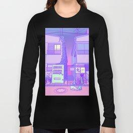 Pastel Tokyo Cats Long Sleeve T-shirt