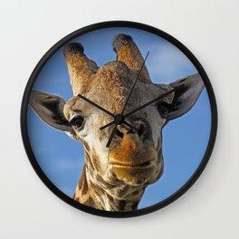 The Giraffe II Wall Clock