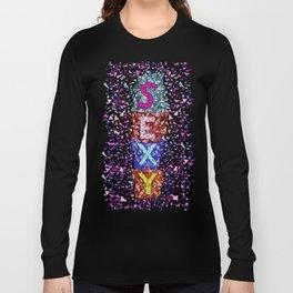 Geometric - Sexy triangles Long Sleeve T-shirt
