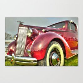 Packard Type 138 Vintage Saloon Car Canvas Print