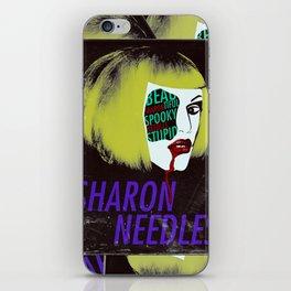 Sharon Needles Poster iPhone Skin