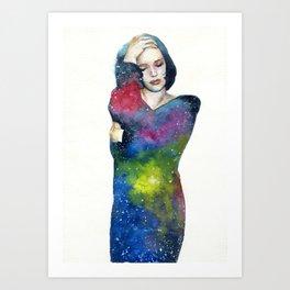 Galaxy in me Art Print