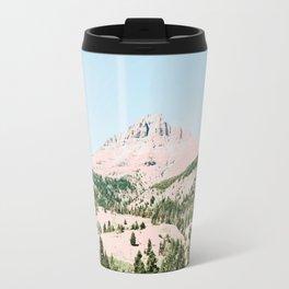 Happy Mountain #society6 #decor #buyart Travel Mug