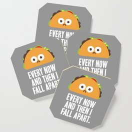 Taco Eclipse of the Heart Coaster