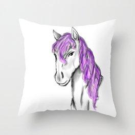 Princess Horse Throw Pillow