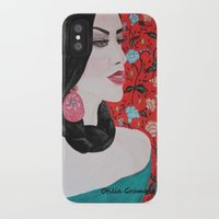 spanish iPhone & iPod Cases featuring Spanish Dreaming by otilia elena