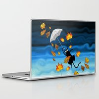 umbrella Laptop & iPad Skins featuring Umbrella  by Andrew Hitchen