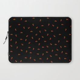 Dark Delicate Cherry Laptop Sleeve