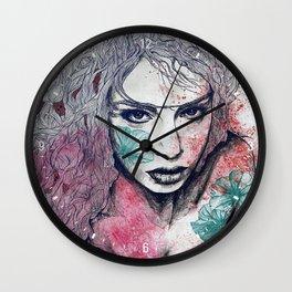 No Hope In Sight: Purple Wall Clock