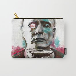 Marlon Brando under brushes effects Carry-All Pouch