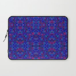 """NeonBlue Peace Rose"" by surrealpete Laptop Sleeve"