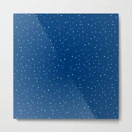 blue stars Metal Print