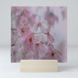 Delicate Pink Blossoms Mini Art Print