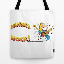 Nurses Rock Side by Side Tote Bag