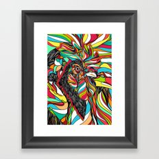 Tropical Cock (Feat. Bryan Gallardo) Framed Art Print