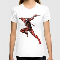 xmen T-shirts featuring DEADPOOL PAINT SWIRL marvel xmen x-men film movie by Radiopeach