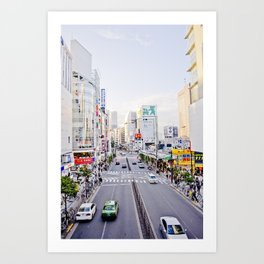 Shinjuku forever Kunstdrucke