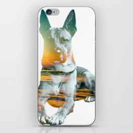 Beach Sunset Bono  iPhone Skin