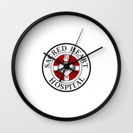 Hospital logo Wall Clock