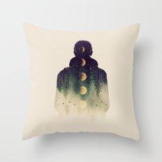 Night Air Throw Pillow